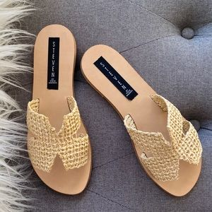 NIB Steven Greece Sandals size 6
